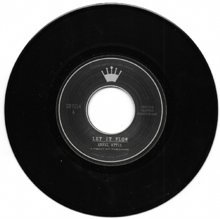 Erryl Attik - Let It Flow (Unrulee Records) 7""